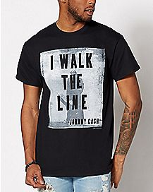 I Walk the Line Johnny Cash T Shirt