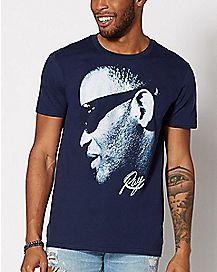 Blue Ray Charles T Shirt
