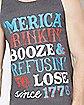 'Merica Drinkin' Tank Top
