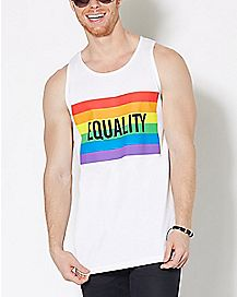 Rainbow Equality Tank Top