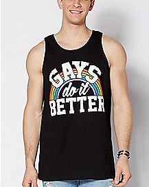 Gays Do It Better Tank Top
