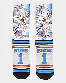 Bugs Bunny Crew Socks - Space Jam