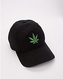 Weed Leaf Dad Hat