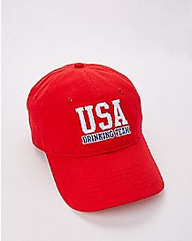 USA Drinking Team Dad Hat