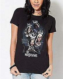 Magic Comes From Pain T Shirt - The Magicians