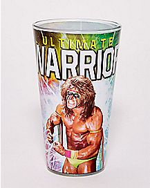 Ultimate Warrior Pint Glass 16 oz. - WWE