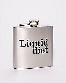 Liquid Diet Flask - 6 oz.