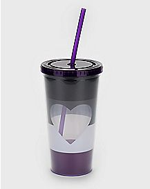 Asexual Cup With Straw - 20 oz.