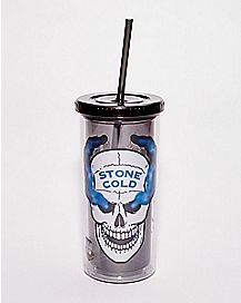Austin 316 Stone Cold Cup with Straw 20 oz. - WWE