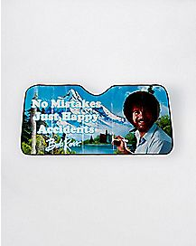 No Mistakes Just Happy Accidents Bob Ross Sun Shade
