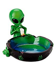 Smoking Alien Ashtray