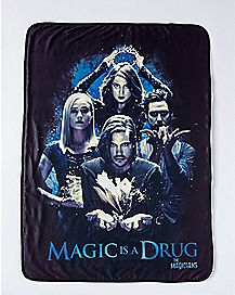 Magic Is A Drug Fleece Blanket - The Magicians