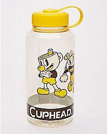 Cuphead and Mugman Water Bottle 32 oz. - Cuphead