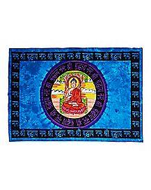 Tie Dye Buddha Tapestry