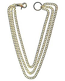 Goldplated Wallet Chain