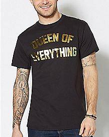 Foil Queen Of Everything T Shirt