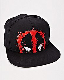 Splatter Deadpool Snapback Hat - Marvel