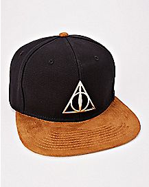 Deathly Hallows Snapback Hat - Harry Potter
