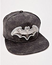 Metal Logo Batman Snapback Hat - DC Comics
