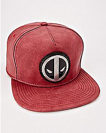 Metal Logo Deadpool Snapback Hat - Marvel