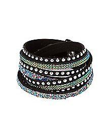 Druzy Wrap Bracelet