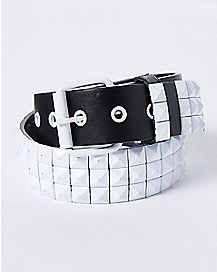 White Stud Belt