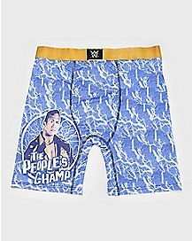 The People's Champ The Rock Boxer Briefs - WWE