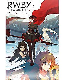 RWBY Volume 3 Poster - RWBY