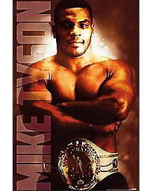 Heavyweight Champ Mike Tyson Poster