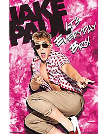Everyday Bro Jake Paul Poster