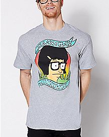 Your Ass Is Grass T Shirt - Bob's Burgers