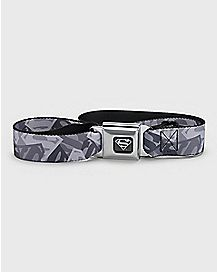 Camo Superman Seatbelt Belt - DC Comics