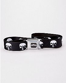 Punisher Seatbelt Belt - Marvel
