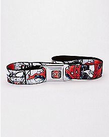 Spider-Man Seatbelt Belt - Marvel Comics