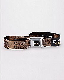 Call of Duty WWII Seatbelt Belt