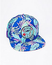 Tropical Scrump and Stitch Snapback Hat - Disney