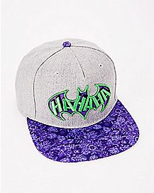 HAHAHA The Joker Batman Snapback Hat - DC Comics
