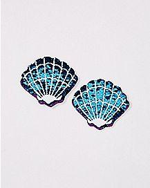 Seashell Sequin Nipple Pasties