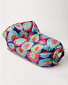 Tie Dye Air Bed Inflatable Lounger