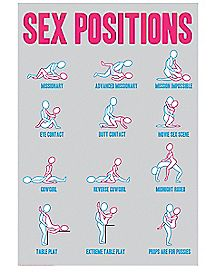 Sex Positions Poster
