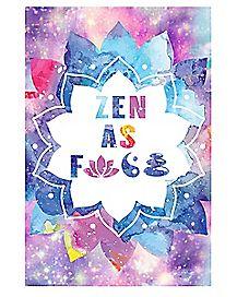 Symbols Zen Poster