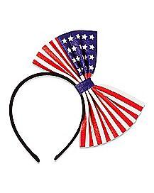 Americana Bow Headband