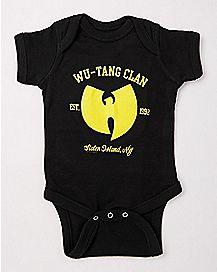 Wu-Tang Clan Baby Bodysuit