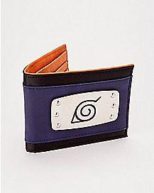 Naruto Headband Bifold Wallet - Naruto Shippuden