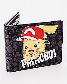 Pikachu Kalos Hat Bifold Wallet - Pokemon