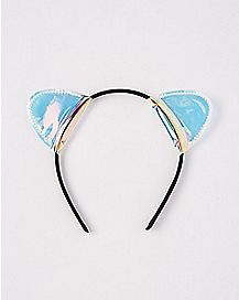 Iridescent Cat Ear Headband
