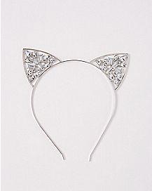 Gem Cat Ear Headband