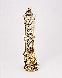 Stand Up Ganesh Elephant Incense Burner