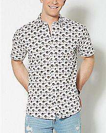 Bob Ross Button Down Shirt