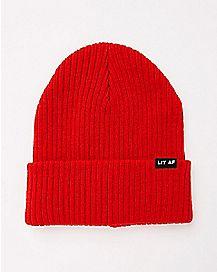 Lit AF Beanie Hat